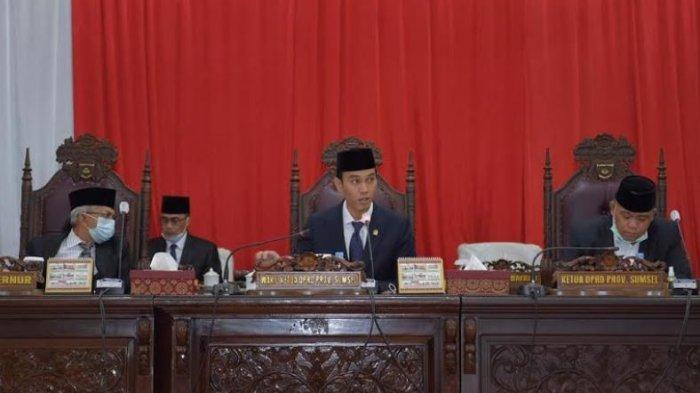 Wagub Sampaikan Tanggapan Pandangan Umum Fraksi-fraksi DPRD Sumsel Terhadap APBD 2021