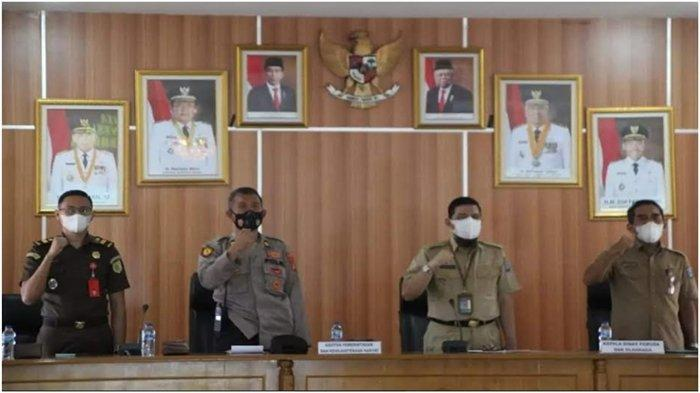 Taat Prokes, Porkab Ogan Komering Ilir Digelar di Empat Zona