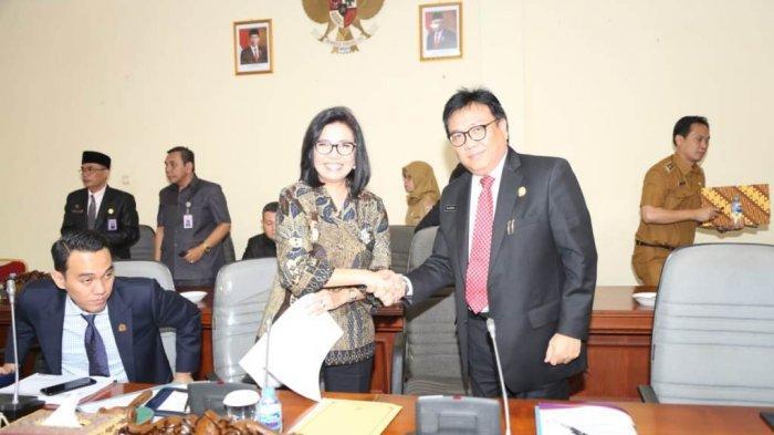 DPRD- Pemprov Sumsel Rapat Penetapan 16 Raperda Provinsi Sumsel TA 2020, Apa Saja?