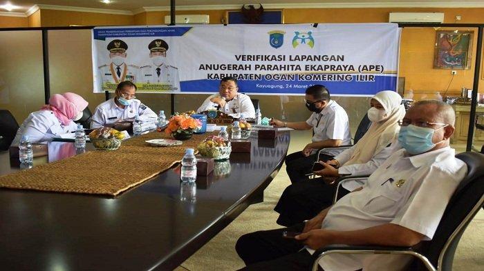 Kabupaten Ogan Komering Ilir Optimis Raih Anugerah Parahita Ekapraya (APE) Tahun 2021