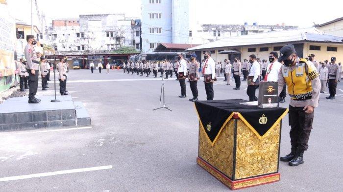 Ratusan Personel Polda Sumatera Selatan Dapat Penghargaan