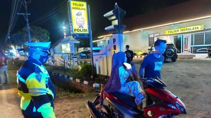 Polres Ogan Ilir Gelar KRYD Antisipasi Kejahatan Jalanan di Indralaya
