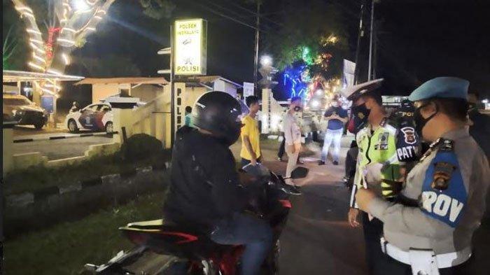 Ciptakan Keamanan, Polres dan Polsek di Ogan Ilir Gelar Operasi Razia Malam Minggu