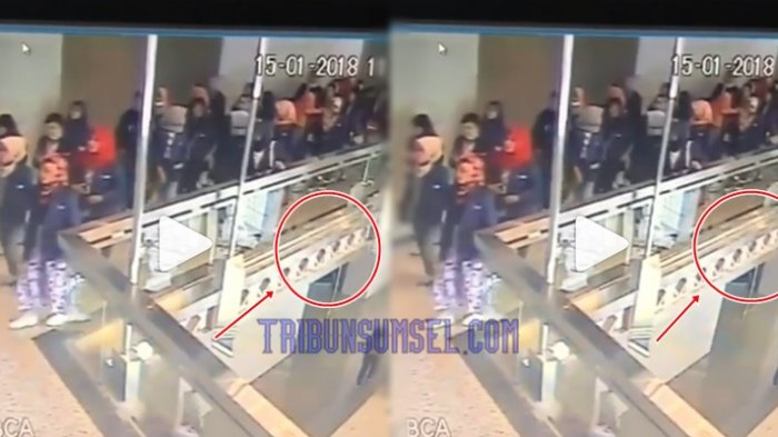 Video Detik-detik Selasar Gedung BEI Ambruk di Detik ke 22, Netizen Temukan Sosok Putih Misterius