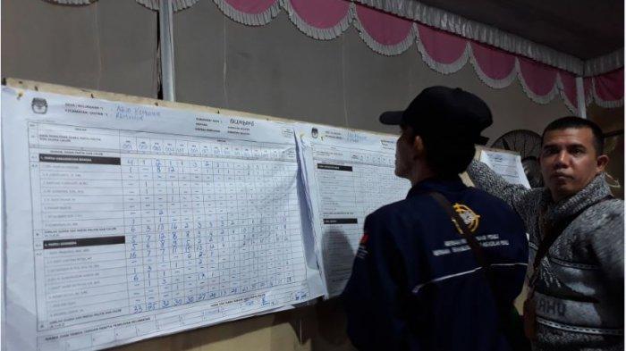 Hasil Suara Caleg DPR RI Dapil Sumsel 1 di Kelurahan Ario Kemuning, Sarimuda Raih Suara Terbanyak
