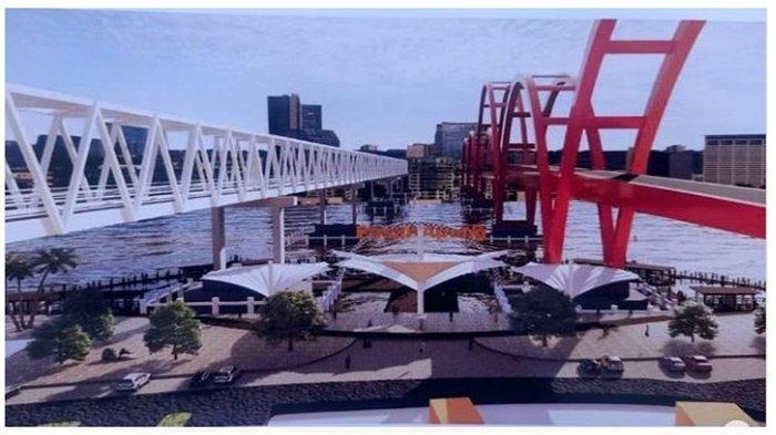 Palembang Bakal Miliki Pasar Apung, Dibangun di Bawah Jembatan Musi 2, Lokasi Belanja dan Wisata