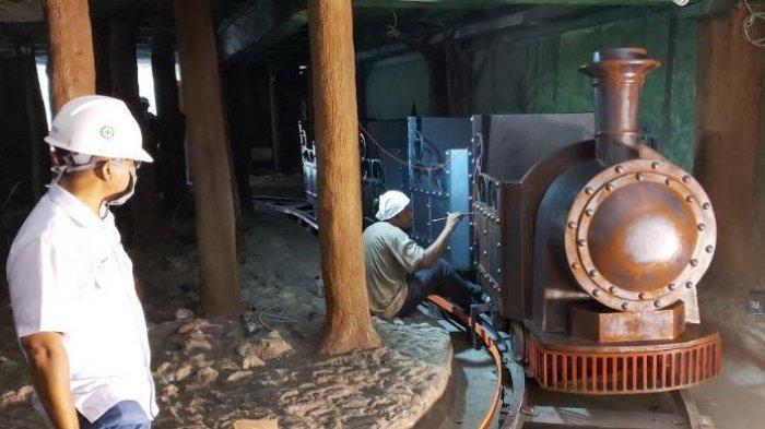 Replika Kereta Api Lengkapi Koleksi Museum Batu Bara Tanjung Enim, Akhir Bulan Ini Uji Coba