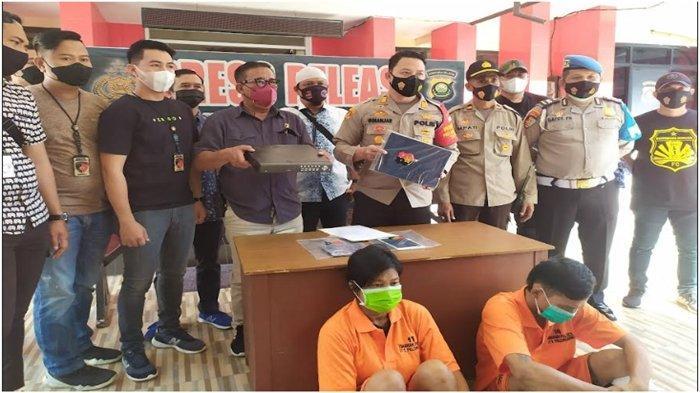 Beraksi di 8 TKP di Palembang, Gerandong Residivis Bobol Toko Ditangkap Bersama Seorang Rekan