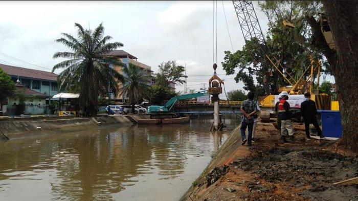 Restorasi Sungai Sekanak Lambidaro Rp 380 Miliar, Dari Jerambah Karang ke PIM, Selesai Oktober 2021