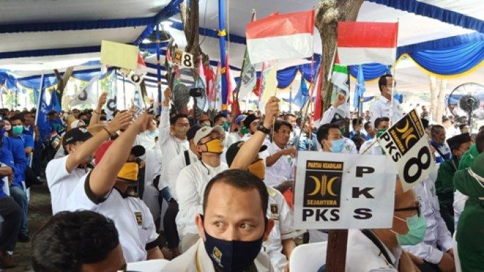 Hari Ini Bapaslon Panca Wijaya - Ardani Daftar ke KPU Ogan Ilir, Sebut Diantar Ribuan Simpatisan