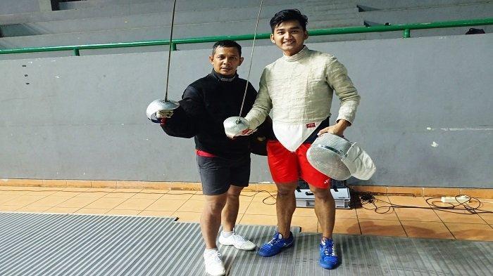 Sosok Atlet Anggar Sumsel Ricky Dhisullimah, Target Medali Emas di PON XX Papua