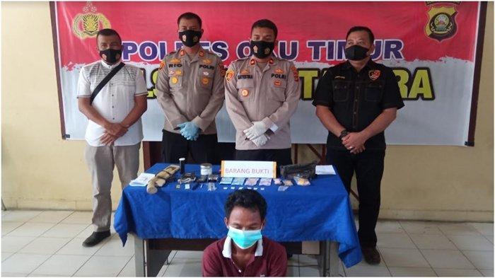 Kapolsek Martapura Nyamar Jadi Pembeli Sabu, Tangkap Seorang Pengedar Narkoba