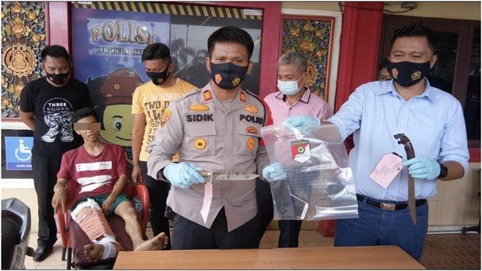 Pria 21 Tahun di Palembang Ini 60 Kali Menodong, Incar Mobil Barang Luar Kota, Pura-pura Minta Rokok