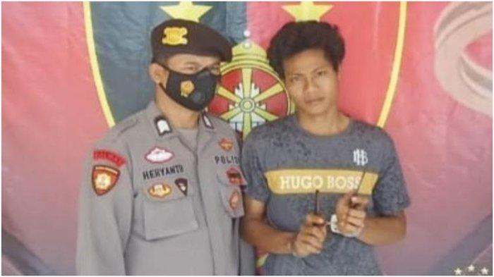 Pemuda 22 Tahun di Musi Rawas Bawa Pisau di Pinggang, Ditangkap di Jalinsum Muara Beliti