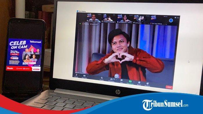 Celeb on Cam Telkomsel Hadirkan Rizky Febian, Berikan Inspirasi Melalui Kisah Hidupnya