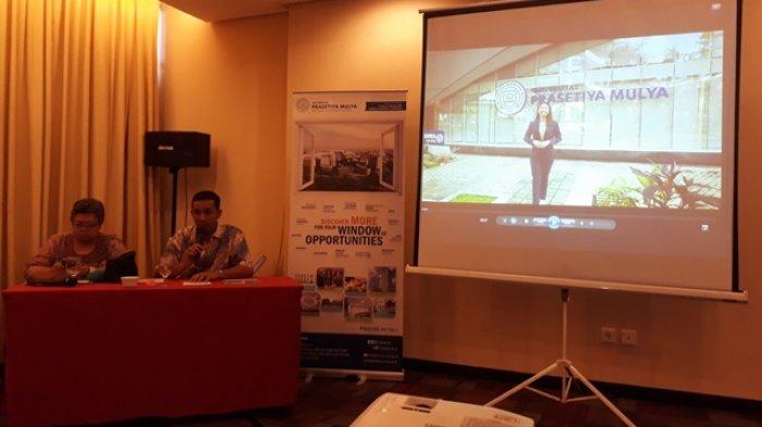 Roadshow ke 7 Kota di Indonesia, Prasetya Mulya Cari Mahasiswa di Palembang