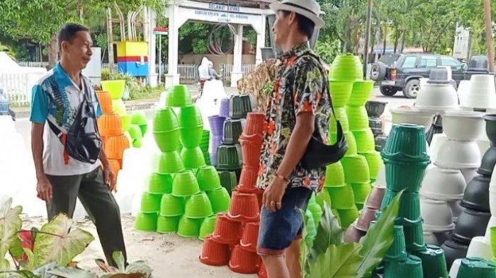 Cerita Rohmat Pemuda Baru Tamat Kuliah Panen Jutaan Rupiah dari Bisnis Pot dan Tanaman Hias