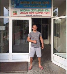 Siapkan Diri Tampil Maksimal di Asian Games 2018, Ronald Pegulat Sumsel Berguru Sampai ke Bulgaria