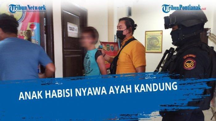 Jeritan Tolong Adi Gegerkan Warga, Ditemukan Bersimbah Darah di Halaman Rumah, Dibunuh Anak Kandung