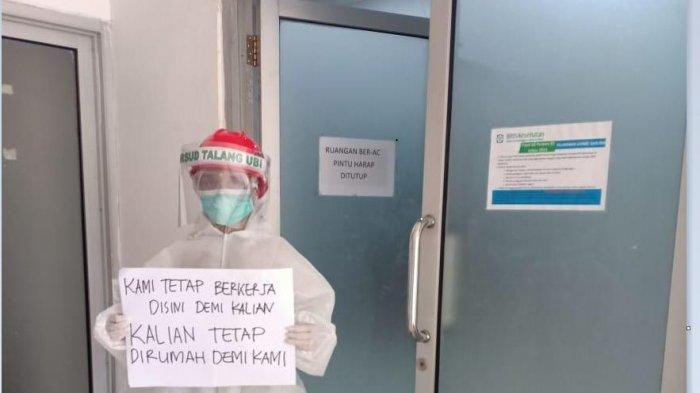 Warga PALI Keluhan Batuk dan Sesak Napas Pulang dari Riau Langsung DIisolasi di RSUD