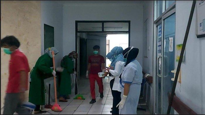 Kebakaran di RS HM Rabain Muara Enim, 138 Pasien Dievakuasi, Kegiatan di Ruang Operasi Disetop