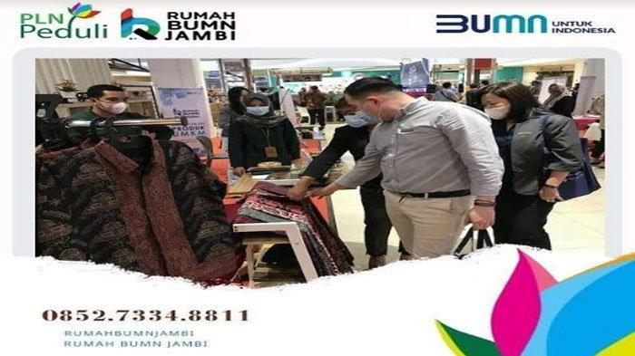 Terus Komitmen Bantu UMKM, Rumah BUMN Binaan PLN Mengikuti JEK TV EXPO