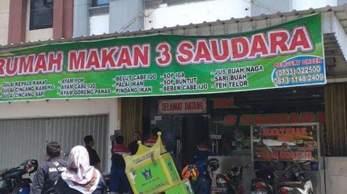 Alamat 5 Rumah Makan Padang di Lubuklinggau, Ada Pagi Sore Hingga Singgalang
