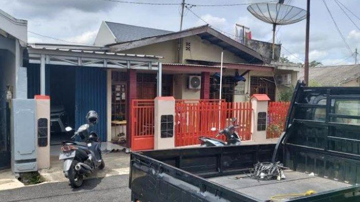 Rumah orangtua Edhy Prabowo di Tanjung Enim Kecamatan Lawang Kidul, Kabupaten Muaraenim, Sumsel, Rabu (25/11/2020).