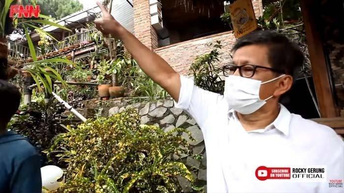 Mengintip Rumah Rocky Gerung yang Terancam Digusur, Sahabat : Emak-emak Histeris Jika Ini Dibuldozer