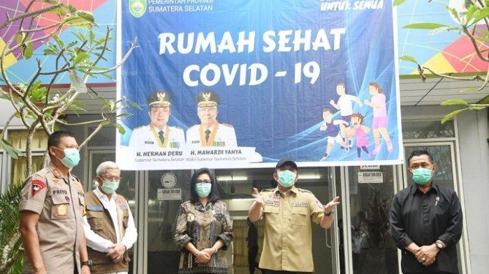 Gubernur Sumsel, Herman Deru Resmikan Rumah Sehat di Jakabaring