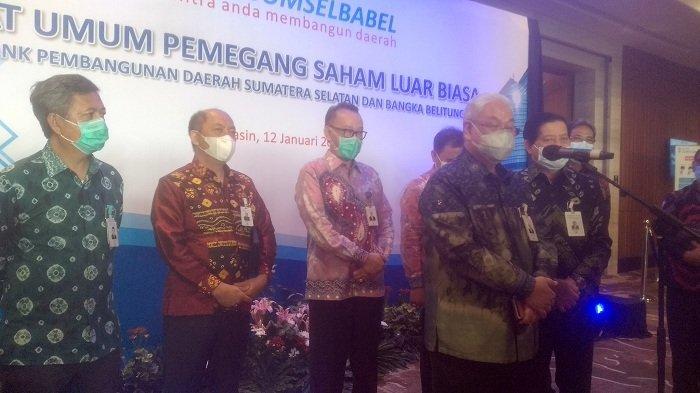 RUPSLB Bank Sumsel Babel Sepakat Perpanjang Jabatan Dua Direksi, Gubernur Sumsel Beberkan Alasannya