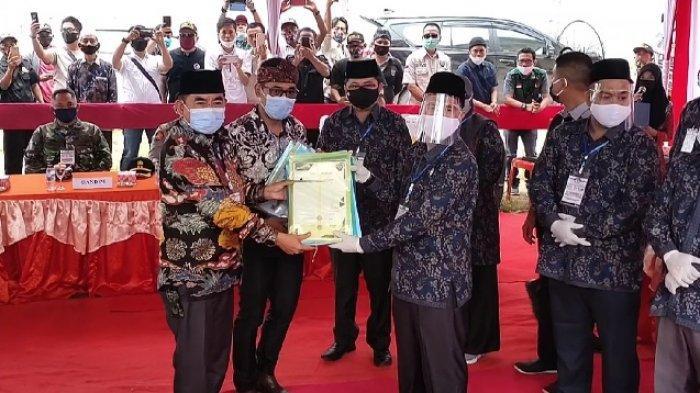 Ruslan Taimi Resmi Balon Bupati OKUT, Surat Pengunduran Diri sebagai Anggota TNI Masih Diproses