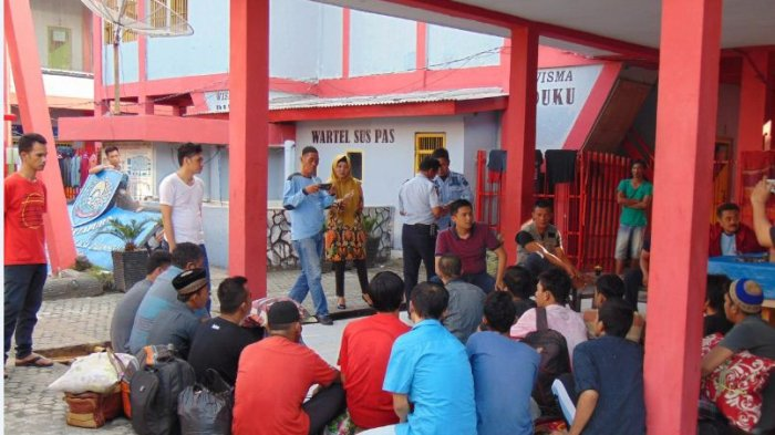 Penghuni Rutan Martapura Terlalu Banyak, 23 Narapidana Tergabung Gelombang 1 Dipindah ke Palembang