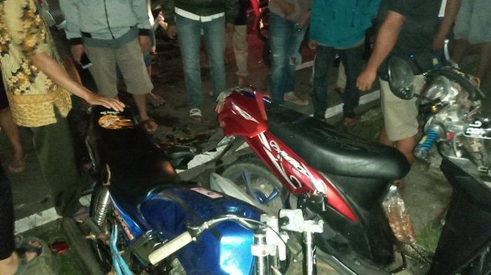 Kecelakan di Lubuklinggau Tadi Malam, RX King vs Mio, Dua Orang Dirujuk ke Palembang