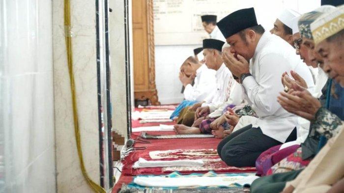 Herman Deru Kagum Masyarakat Secara Swadaya Bangun Rumah Tahfidz Yayasan Masjid Al-Ikhlas