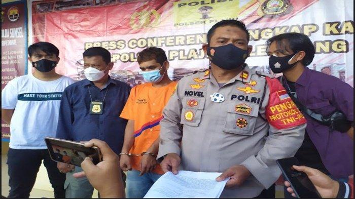 Gegara Pinjam Charger Hp, Seorang Paman di Palembang Aniaya Keponakan, Ancam Bunuh Pakai Pedang