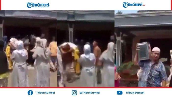 VIRAL Video Rombongan pengantin Salah Ikuti Share Location, Angkut Seserahan yang Telanjur Masuk