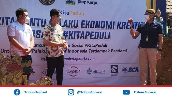 Sandiaga Uno dan Wali Kota Solo Gibran Satu Visi, Kembangkan UMKM Buka Lapangan Kerja