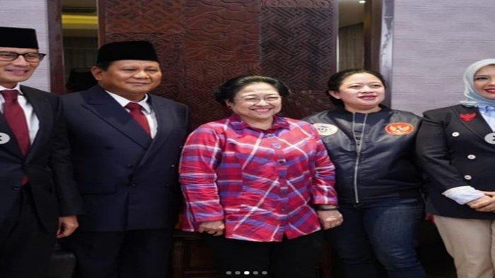Partai Gerindra Bicara Prabowo dan Puan Maharani Maju di Pilpres 2024, Karena Perjanjian Batu Tulis?