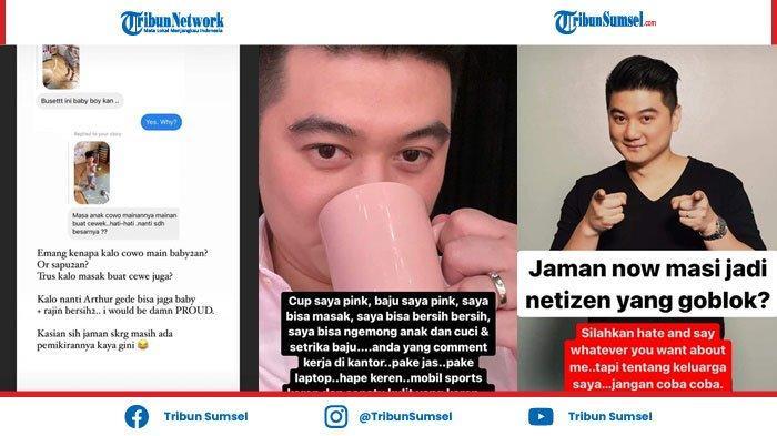 Sang Anak Dibully Soal Sapu & Boneka, Chef Arnold: Kalo Tentang Keluarga Saya, Jangan Coba-Coba