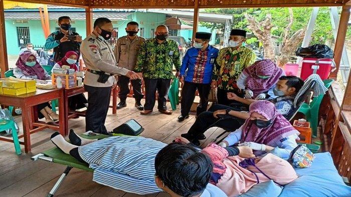 Sat Binmas Polres OI Berpartisipasi pada Gerakan Masyarakat Hidup Sehat