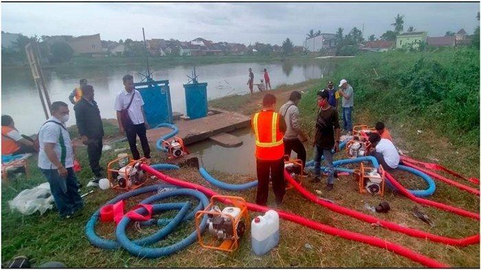BBWSS VIII Ungkap Penyebab Banjir Palembang, Sedimentasi Muara Sungai juga Sampah