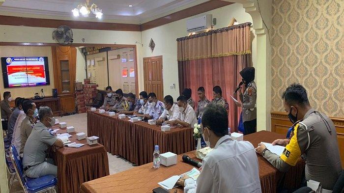 Satlantas Polres OI Laksanakan Rapat Forum, Bahas Persoalan Lalu Lintas di Ogan Ilir