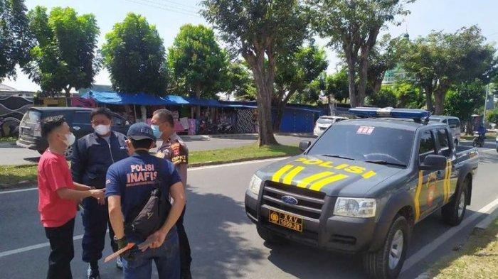 Mobil Pratu Nur Rohman Dipepet Dua OTK Pakai Motor, Dor Peluru Ditembak Tembus ke Paha Istrinya