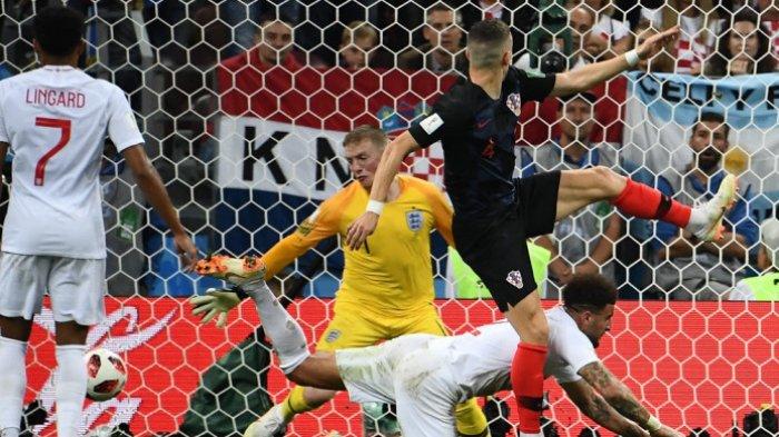 Hasil Babak 2 Kroasia Vs Inggris - Perisic Cetak Gol, Buat Kedua Tim Mainkan Perpanjangan Waktu