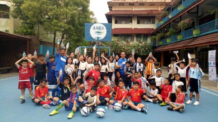 45 Murid SDK Frater Xaverius 2 Palembang Ikut DNC Soccer Training di Jakabaring, Danone Nation Cup