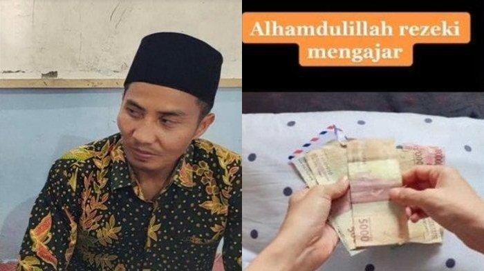 Sosok Nasrullah Guru yang Terima Gaji Rp 144 Ribu, Satu Jam Dibayar Rp 6 Ribu : 'Saya Ikhlas'