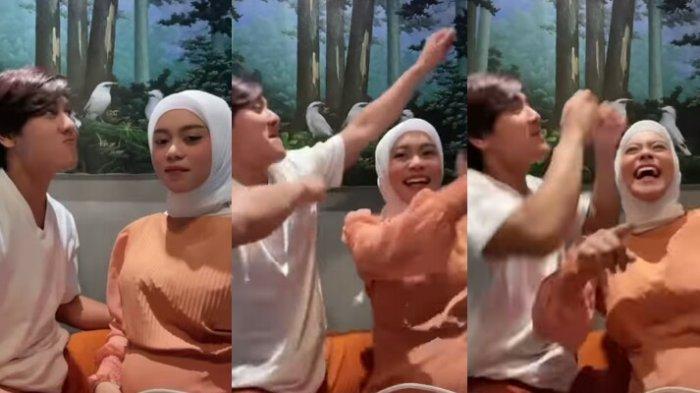 Sedang Hamil, Lesti Kejora Ikut Demam Pargoy Joget Bareng Rizky Billar, Bikin Fans Leslar Khawatir