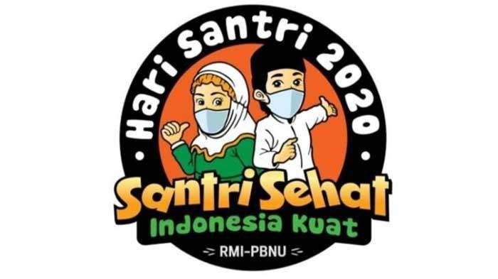 Download Logo Hari Santri Nasional 22 Oktober 2020, Format PNG,JPG & PDF Santri  Sehat Indonesia Kuat - Tribun Sumsel