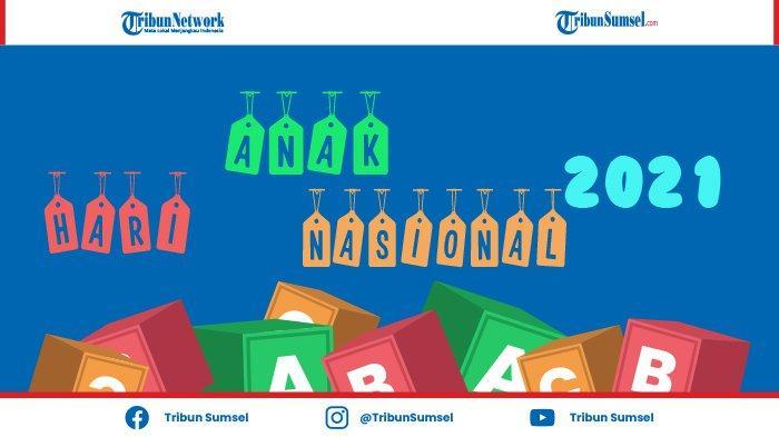 Sejarah Tema, Sub Tema Serta Link Download Logo Hari Anak Nasional (HAN) 2021, Unduh di Sini